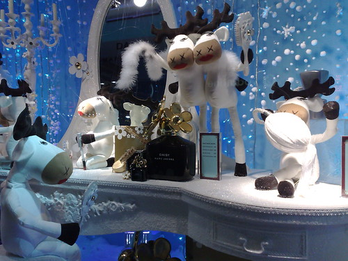 Debenhams animatronic window display