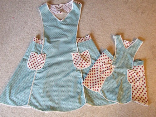 big and little apron