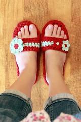 Pammy Sandals Crochet Pattern