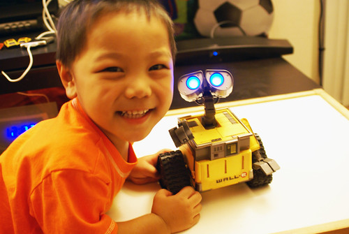 Aaron and Wall-E