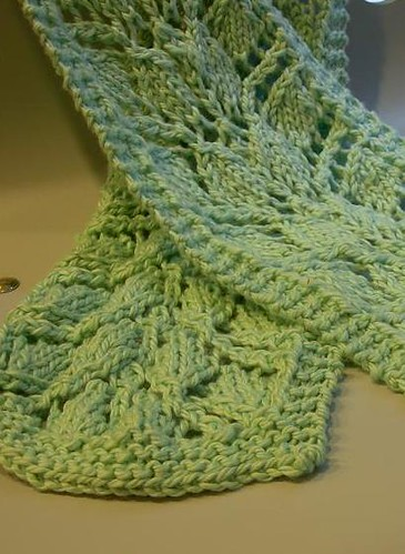 Branching Out scarf