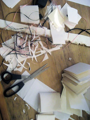 mini journal making mess...