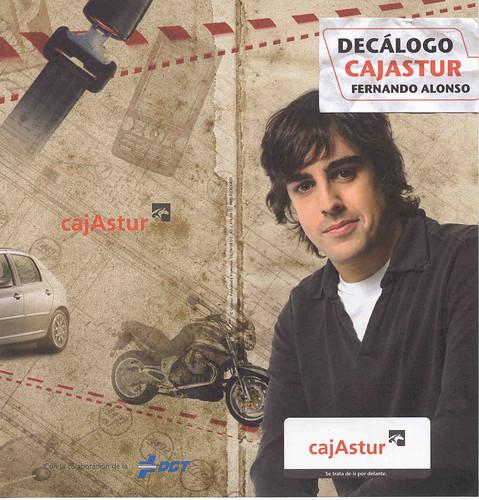 Los consejos de Fernando Alonso sobre la seguridad vial.