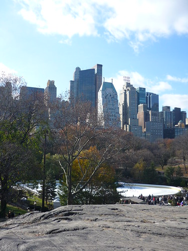 Manhattan seen from Central Park, NYC
