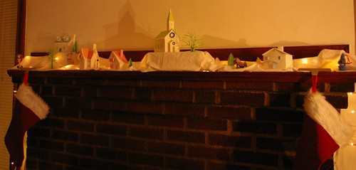 Little village on the mantle