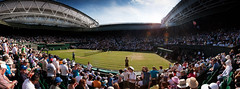 Wimbledon 2009: Centre Court panorama
