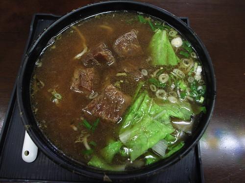 牛爸爸牛肉麵:150元的經典牛肉麵