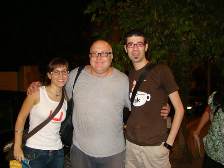 Con Javier Bergia