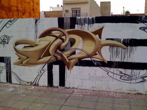 Grafitti en Dos Hermanas