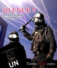 Silence ! You see contrails por TiempoSOScuros
