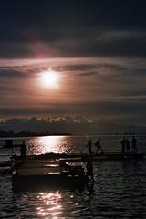 Lake Toba sunset