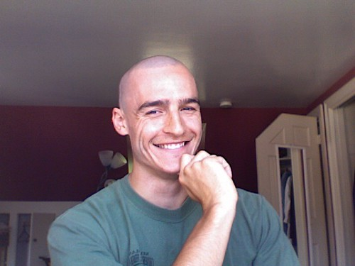 Im a happy kind of person, and recently very bald.