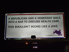 A Republican and a Democrat walk into a bar...