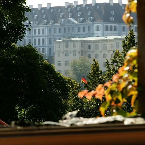 Fensterbild Herbst