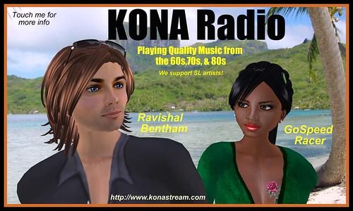 KONA Radio Poster 3