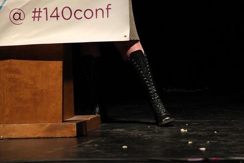 140 Conference - fun kicks