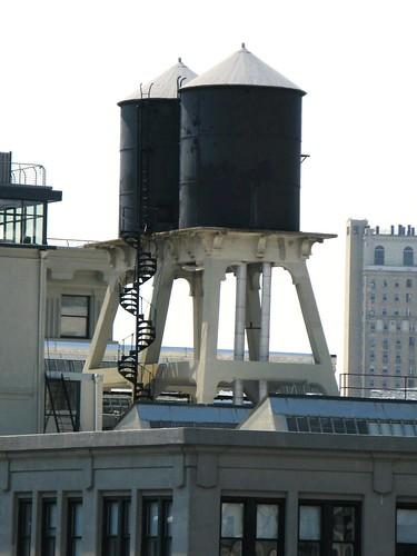 Water Tanks from the Manhattan Bridge