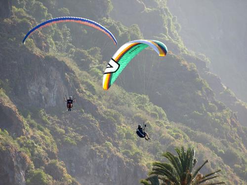Flypa 08 takes to the Los Realejos skies