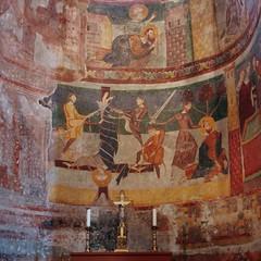 Karolingische und romanische Fresken