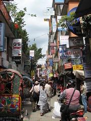 Thamel, Katmandú, Nepal