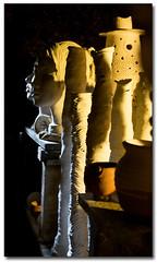 Sculptures thru Stoke-hole