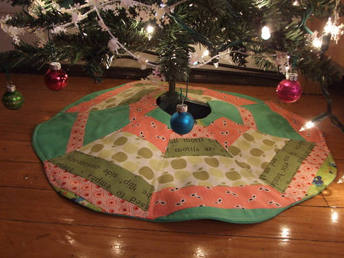 watermelon tree skirt