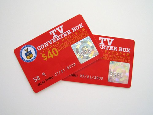 Digital TV Coupons