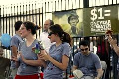 blood:water mission volunteers