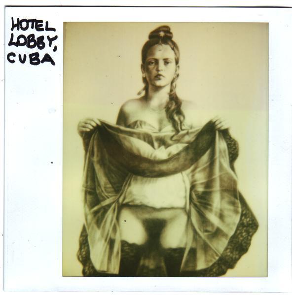 NAKED LADY IN LOBBY, CUBA