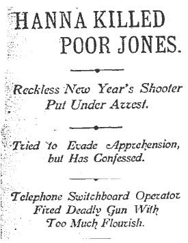 jones headline