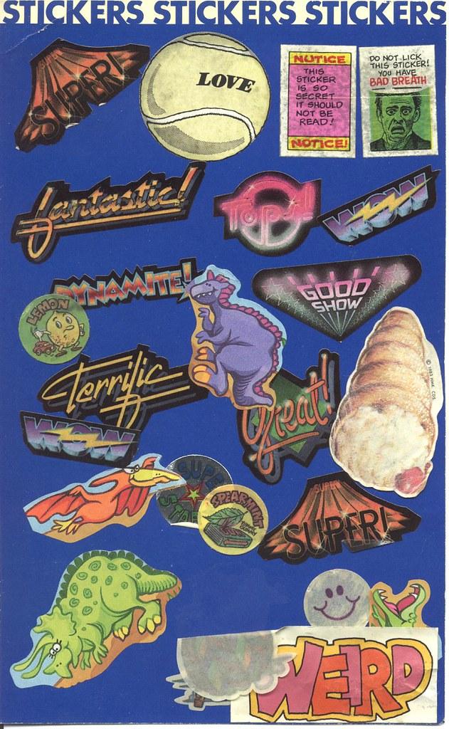 Sticker page 2b