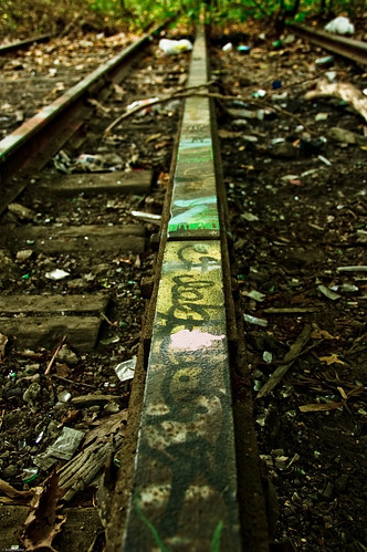 Painted Rail