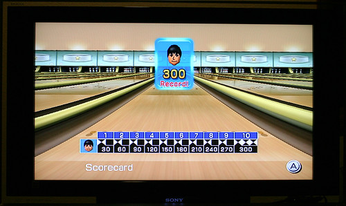 Wii Bowling 300