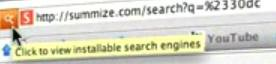 Google Reader - Summize Search Engine f/video