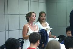Vocal soloists Heather Buck, soprano, and Mary Phillips, mezzo