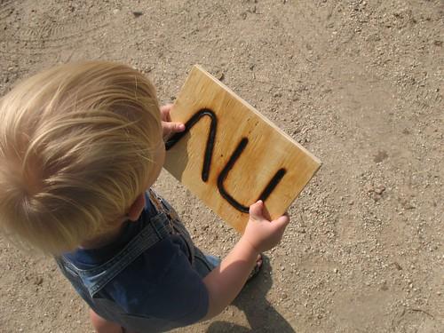 day on the farm...abe's branding