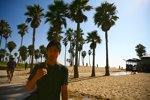 Frozen Banana @ Venice Beach