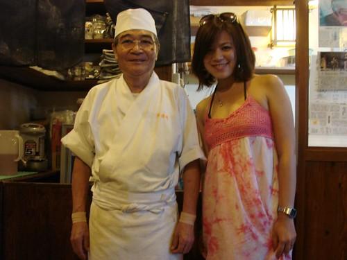 美濃作蕎麥麵店師傅小山健先生也是傳說職人
