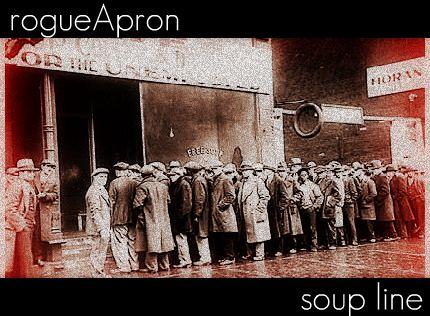 rogueApron soup line
