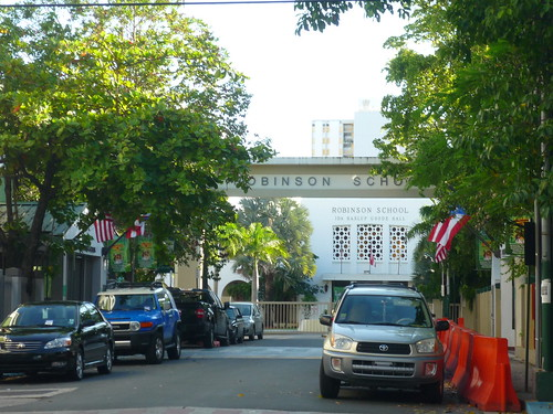 A private school in Condado