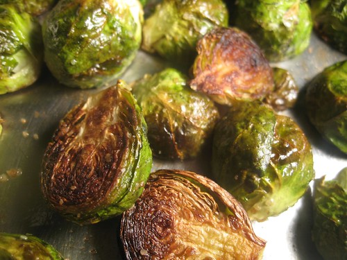 Barr & Table Tropical Traditions Gold Label Virgin Coconut Oil Roasted Brussel Sprouts