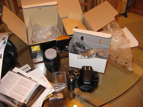 Nikon D60 Desempaquetada