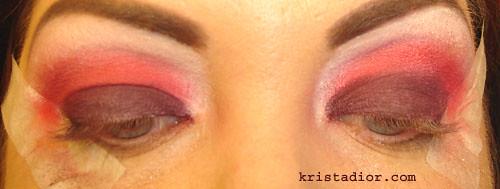 MAC Basic Red Pigment & MAC Burnt Burgundy Pigment