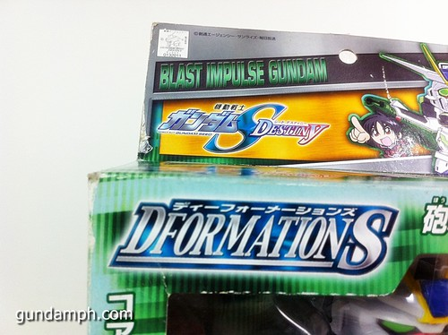 Gundam DformationS Blast Impulse Figure Review (4)