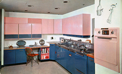 Built-In Kitchens, 1950s by Roadsidepictures