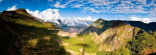Machu Picchu vom Putukusi aus.