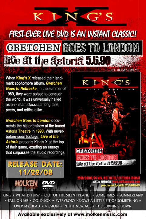 kingsx live dvd
