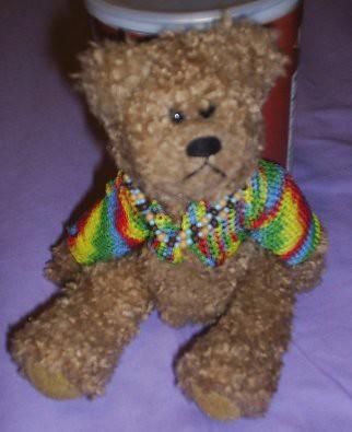 Reginald in bright jacket