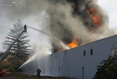 Großbrand Lagerhalle Eltville 03.02.09