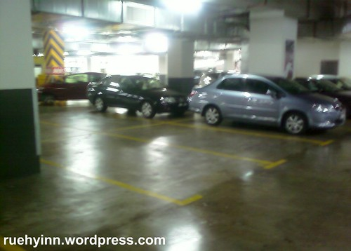 Parking at KLCC